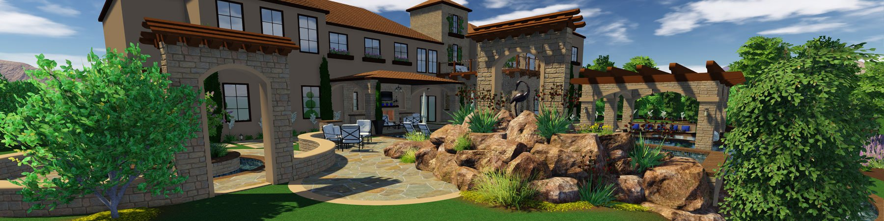 Request a free pool and landscape design software trial of for Pool design software free online